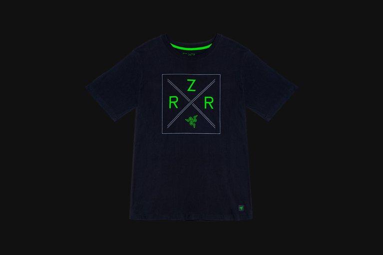 Razer Lifestyle Chroma Shield Tee - Black - XL