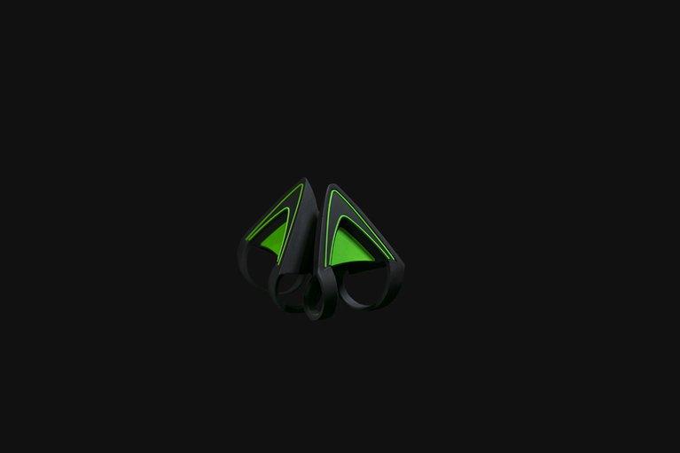 Kitty Ears for Razer Kraken - Green