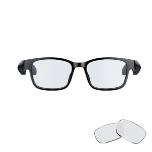 Lifestyle eyewear with built-in headphones for immersive audio