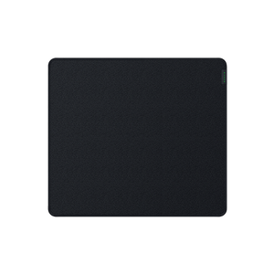 Hybrid mouse mat with a soft base and smooth glide