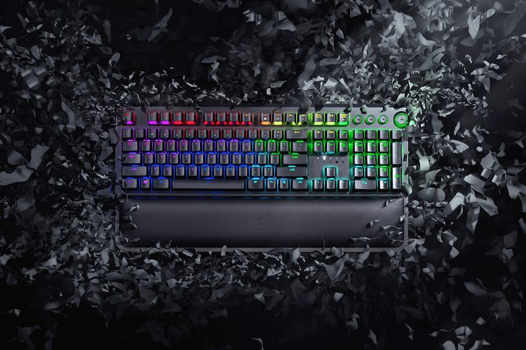 Razer BlackWidow Elite - Green Switch - UK