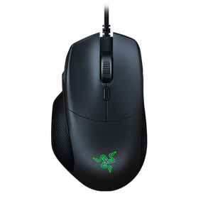 Ergonomic Gaming Mouse with Multi-function Paddle