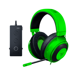 Wired Gaming Headset with USB Audio Controller