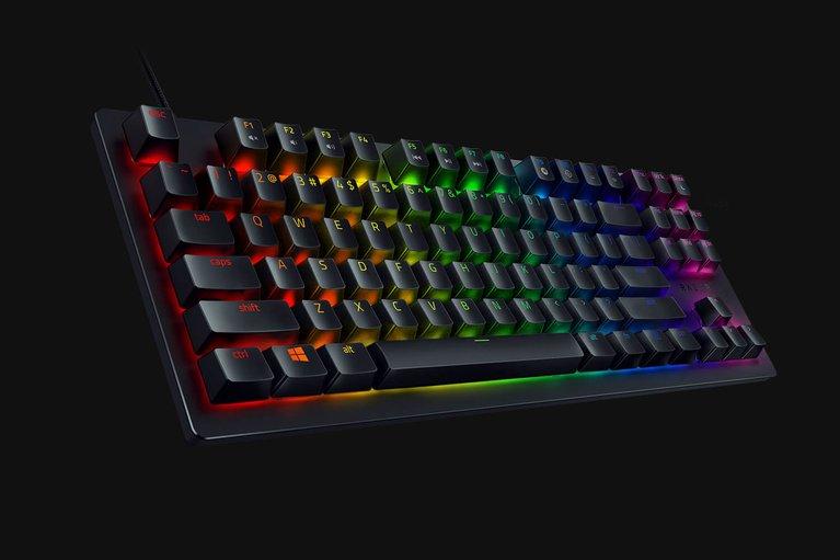 Razer Huntsman Tournament Edition - US - Black Keycaps