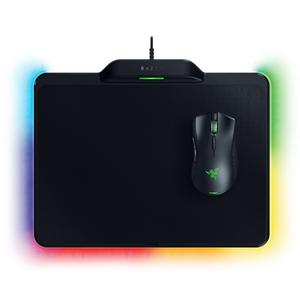 Wirelessly powered mouse with power mat for ultimate freedom