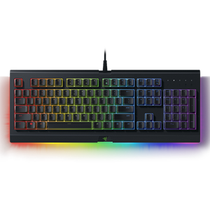Gaming-Tastatur mit weich gefederten Tasten