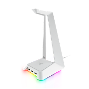 Gaming headphone stand with USB ports and Razer Chroma lighting