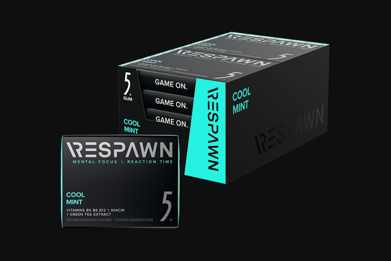 RESPAWN By 5 - Cool Mint - 10 Packs