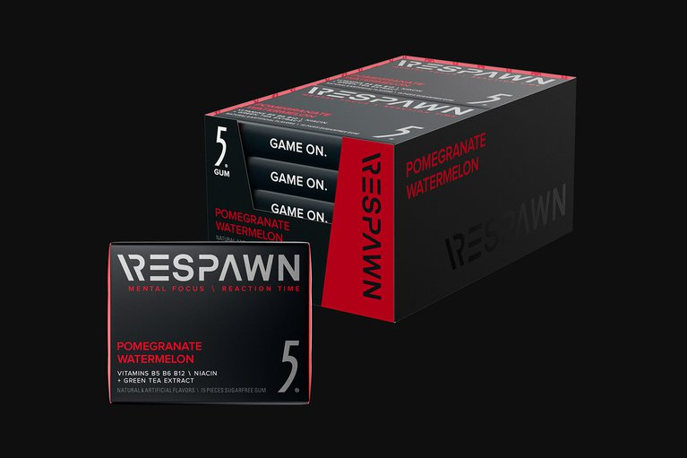 RESPAWN By 5 - Pomegranate Watermelon - 10 Packs
