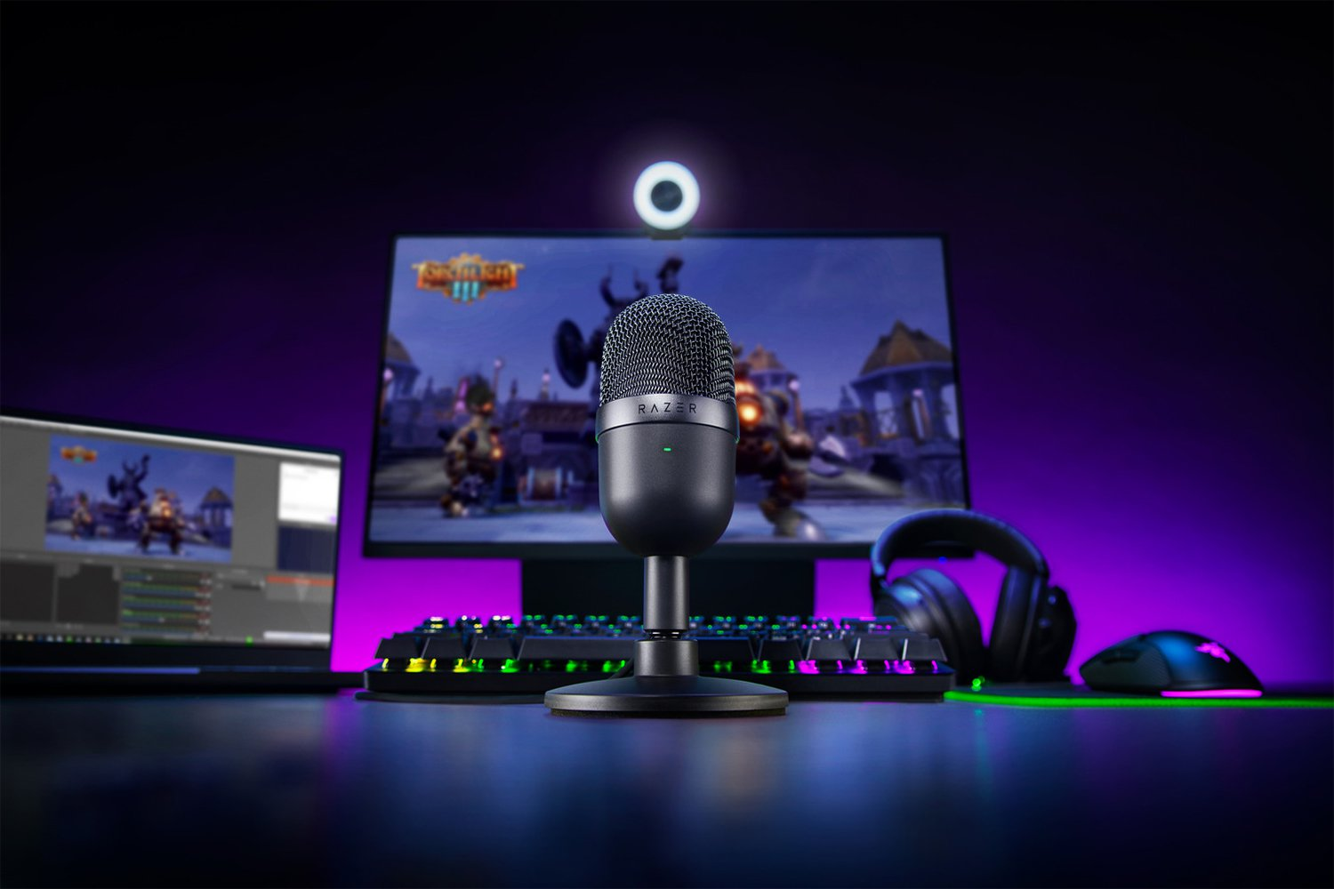Portable Mini Microphone Razer Seiren Mini