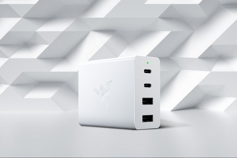 Razer USB-C 130W GaN Charger - White