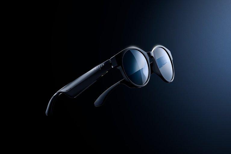 Razer Anzu Smart Glasses  - Round Design - Size SM - Blue Light and Sunglass Lens Bundle