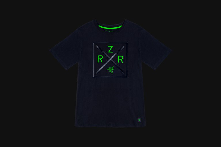 Razer Lifestyle Chroma Shield Tee - Black - XXL