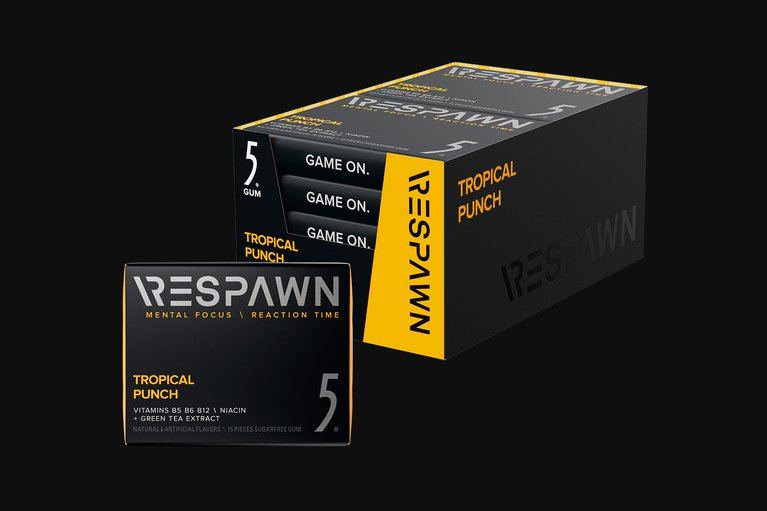 RESPAWN By 5 - Tropical Punch - 10 Packs