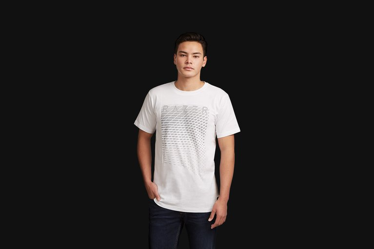 Razer Lifestyle Lance Power Tee - White - XXL